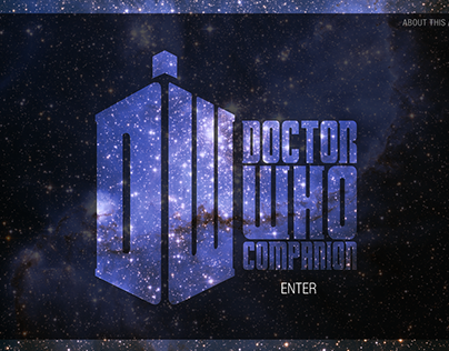 Doctor Who iPad Companion