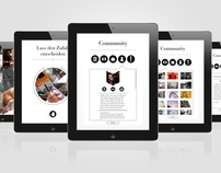Berliner Schnauze iPad Magazine