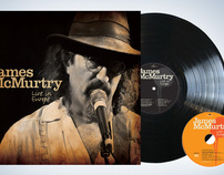 James McMurtry: Live in Europe packaging