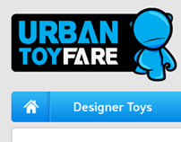 Urban Toyfare E-Commerce