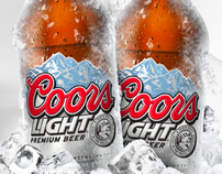 Coors Light - New Thermocromic Bottle & Can