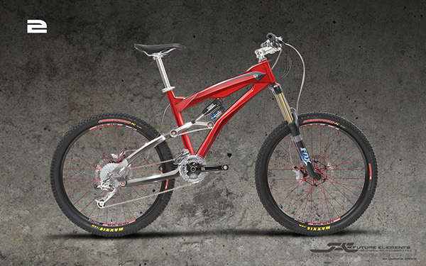 Mountain Bike Design for Chumba Racing