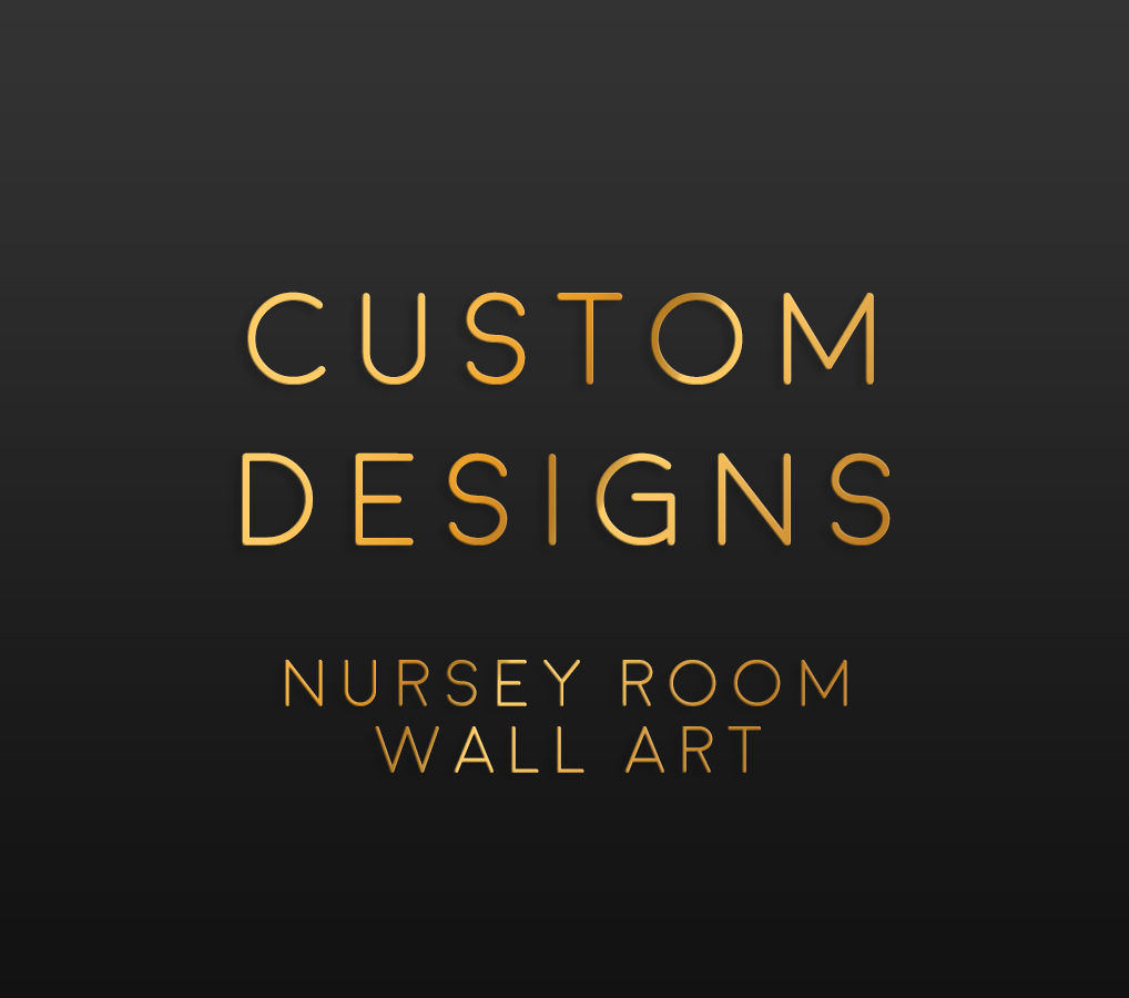 Custom Nursery Room Posters