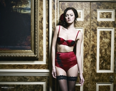 LUCILE LINGERIE AW12 LOOKBOOK