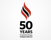 Trinidad & Tobago 50th Anniversary of Independence Logo