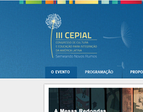 layout website Cepial