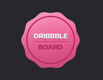 Dribbble Board - Tiny Tool for Dribbble Players