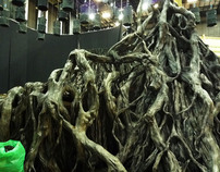 Tengu forest for 47ronin movie