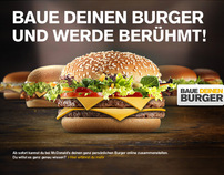 McDonalds - Mein Burger 2011 / 2012