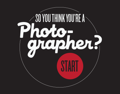 So You Think Youre A Photographer: Infographic