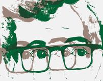 Woody Allen Poster Illustration