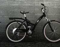 Electrically assisted bicycle - Easybike