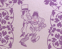 Greeting cards and wedding invitations
