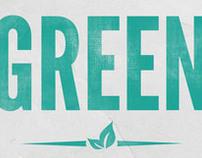 Green Printing Logo