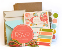 Garden Party Invitation Kit