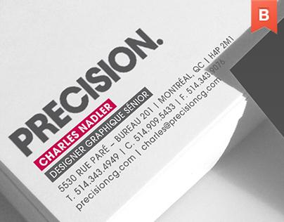 Precision brand identity
