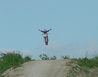 Dirt Bikes Flying High