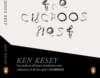One Flew Over The Cuckoos Nest - Penguin Book Cover