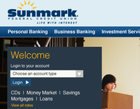 Sunmark Federal Credit Union Site