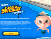 Huggies Little Swimmy Splash - UX Desing