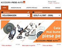Accesorii Piese Auto.ro - Proposal