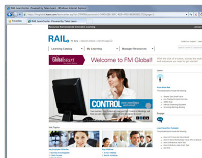 RAIL Website Redesign