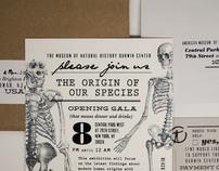 Origin Of Our Species Invitation Suite
