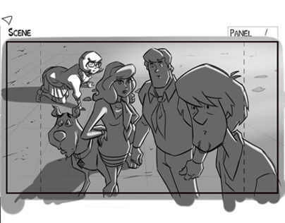 Scooby Doo! Mystery Inc. Storyboards