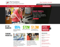 Website Redesign, DCCCD Foundation