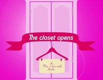 The Closet Opens: A Pre-loved Sale