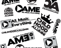 Childhood Alumni/All Music Everything (AME) Logos