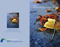 Thanksgiving Card (the client was RIS)