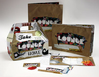 Lounge Restaurant Identity