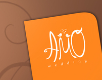 Logo for AMO wedding