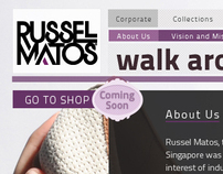 Russel Matos Website and Online Shop