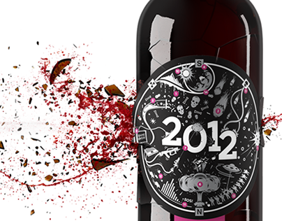 New Year Wine 2012 (Render)