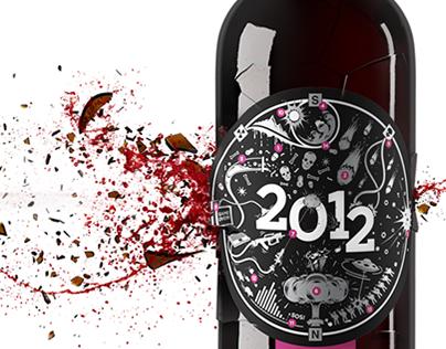 New Year Wine 2012 (Render)
