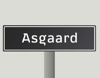 Asgaard Typeface