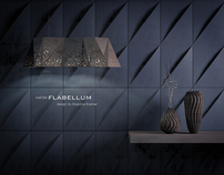 wall tile FLABELLUM