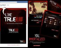 True Blood Immortalize Yourself Facebook App