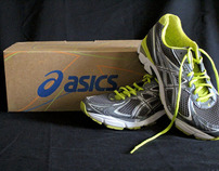 Re-design Asics Shoebox