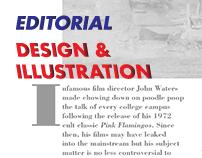 Editorial Design & Illustration