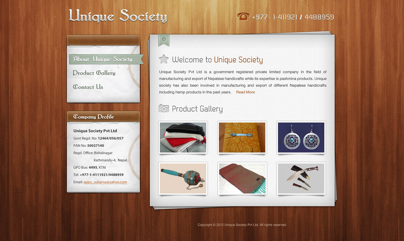 Unique Society Pvt Ltd