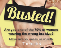 Triumph Bra Fitting Promotion