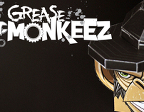 Grease Monkeez-paper toy
