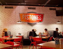 Pistones Food and Drink Garage