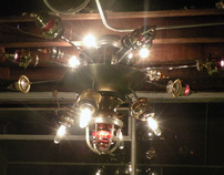 Steam Chandelier