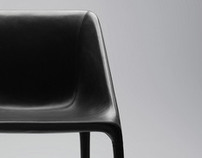 Manta armchair / Poliform