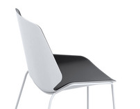 """Fold"" chair / Poliform"