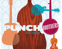 Poster: Punch Brothers at the Fillmore SF